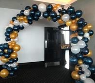 Organic arch. Love the pearl midnight blue, how about you?