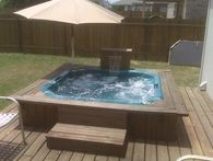 Our pool supply store offers a variety of spa or hot tub designs.