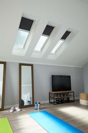 Bonus Room Conversion using VELUX Skylights. Contact Legacy Roofing LLC to learn more.