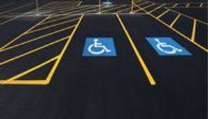 Handicapped Parking Markings