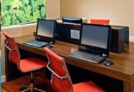 While staying at our hotel you'll be able to continue your day's work or touch base with family and friends from our onsite self-service business center. Whether you connect your laptop to our free Wi-Fi, utilize one of our workstations, or take advantage of the printer/copier/scanner, you'll maintain your productivity. So continuing your day's work or connecting to family and friends is quick and easy at our hotel.