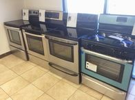 Check out the latest selection of pre-owned certified appliances at our local appliance store today!