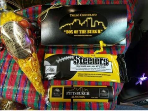 Steelers chocolate