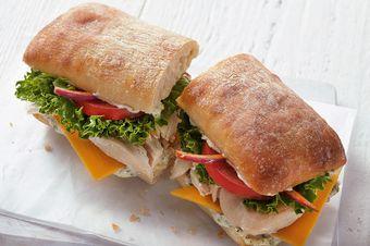 Chicken Carver Sandwich on Ciabatta