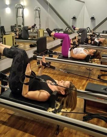 Join us for one of our various fitness classes such as Pilates, BarreAmped and tap n' pow(h)er!