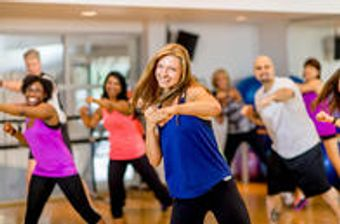 Dancing can be a fun and expressive way for people of all ages, join us for a Zumba class at our Franciscan Health Fitness Centers.