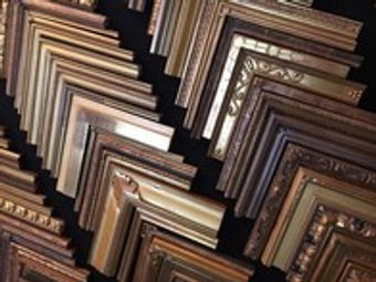 There are many frames to choose from to expertly display your piece.