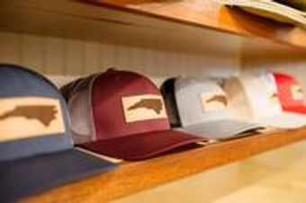 NC hats available in the Beach Shop