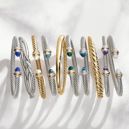 Women's Bracelets - Unique expressions of personal style that layer with ease.