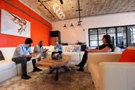 The interior of Web Design and Company, a St Louis SEO Company.