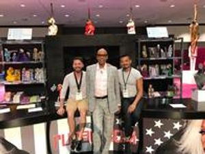 Our Team with RuPaul. We love trade shows!