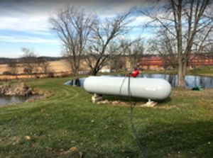 Don't let your propane tank go empty!