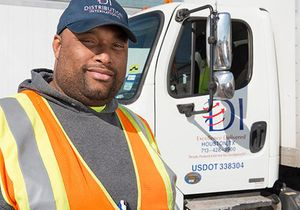 Distribution International maintains a reliable fleet and professional delivery associates that ensure orders arrive on time.