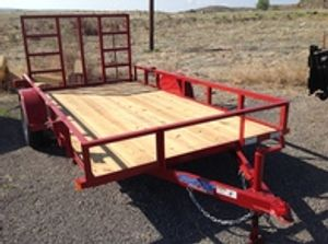 Utility trailers from TopHat