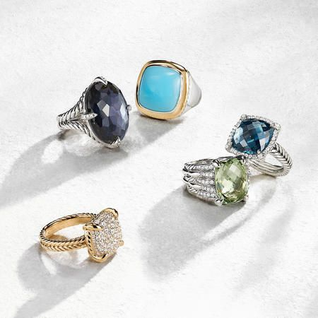 Women's Rings—Radiant reflections of your signature style.