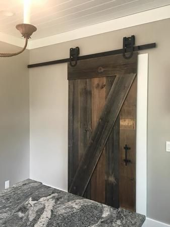 reclaimed barn wood door