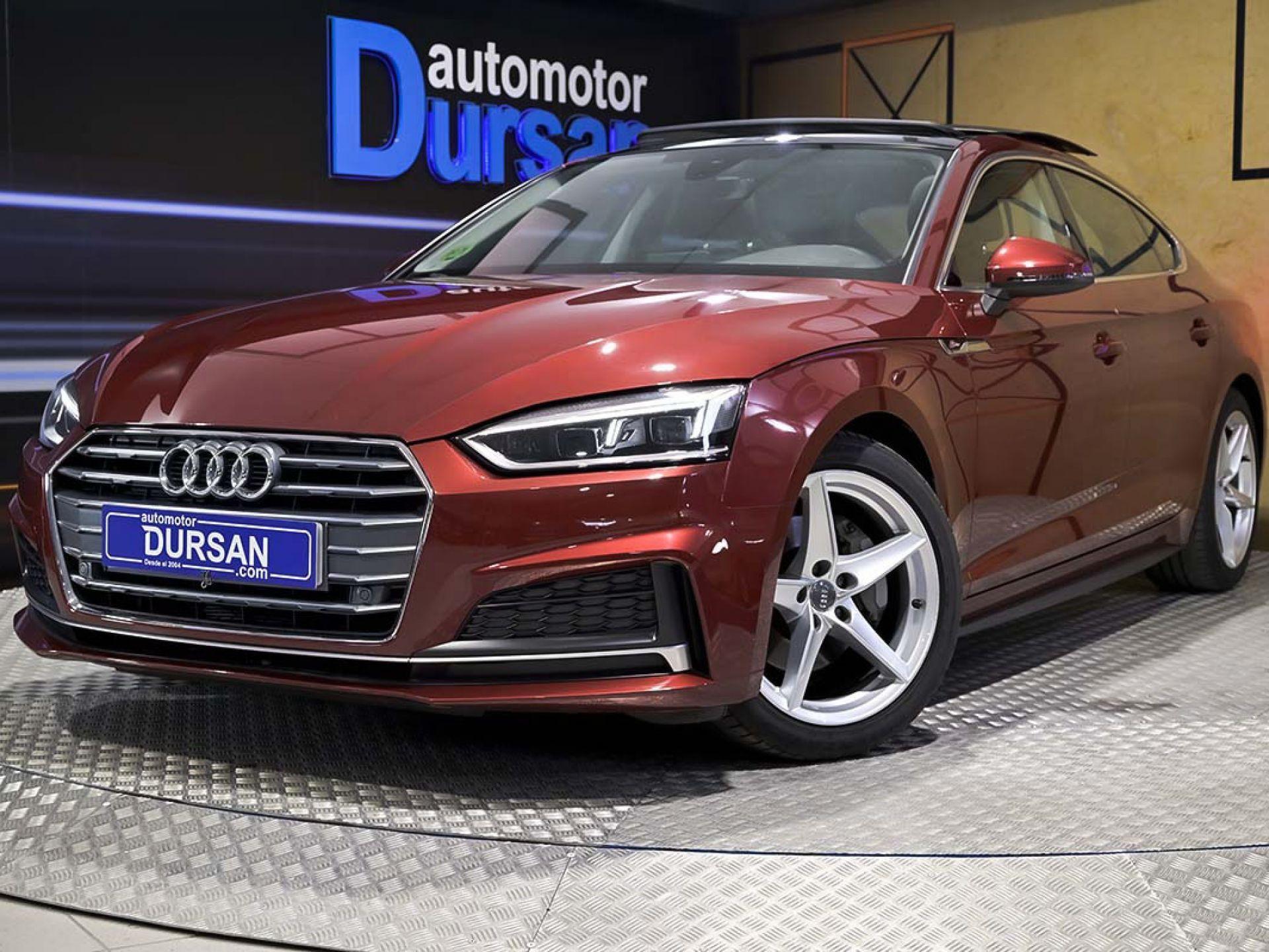 Audi A5 ocasión segunda mano 2017 Diésel por 27.490€ en Madrid