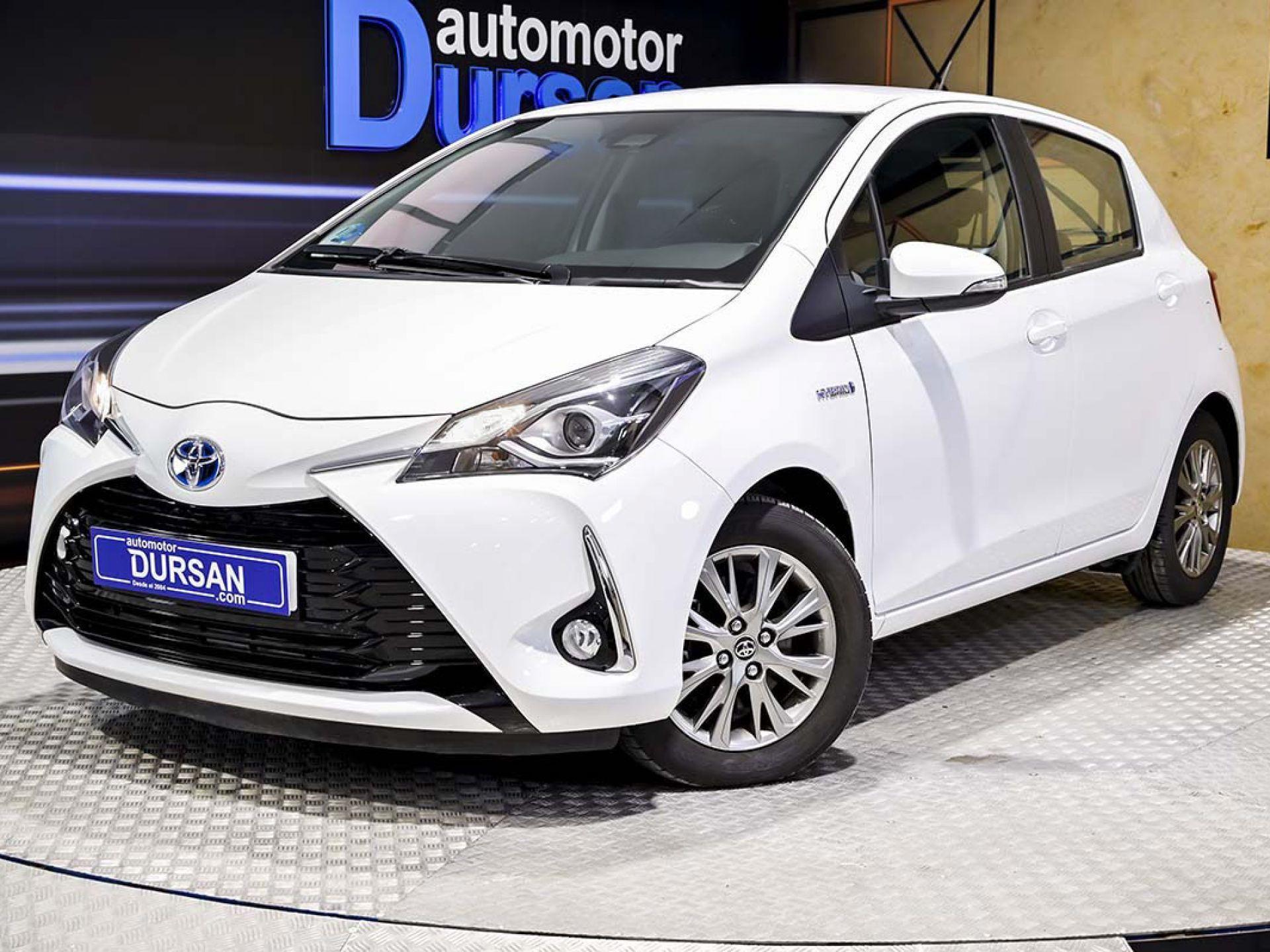 Toyota Yaris ocasión segunda mano 2017 Híbrido por 13.790€ en Madrid