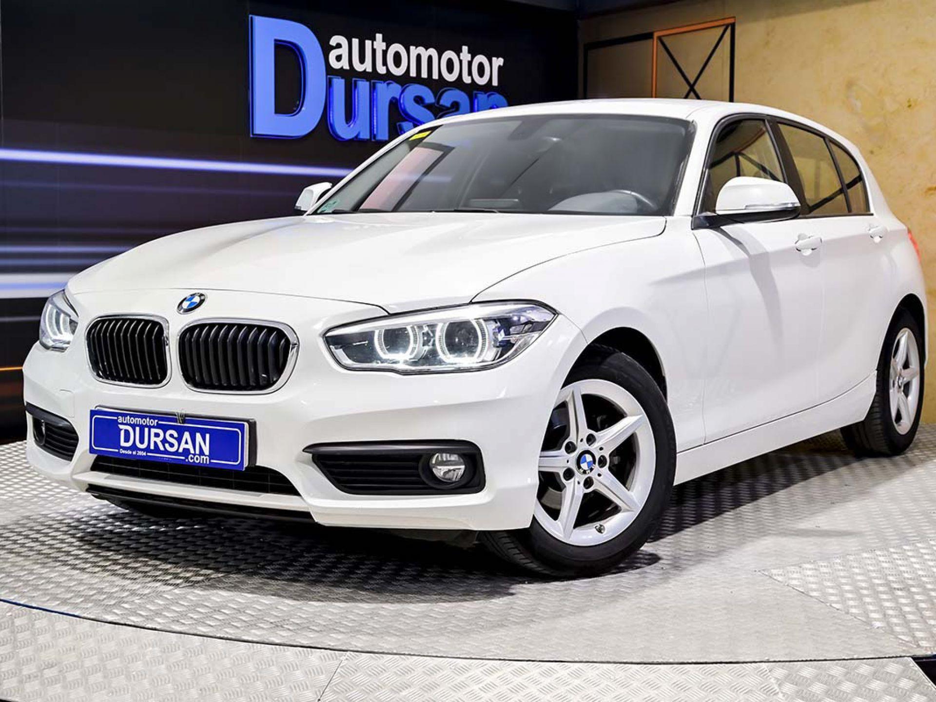BMW Serie 1 ocasión segunda mano 2017 Diésel por 16.490€ en Madrid