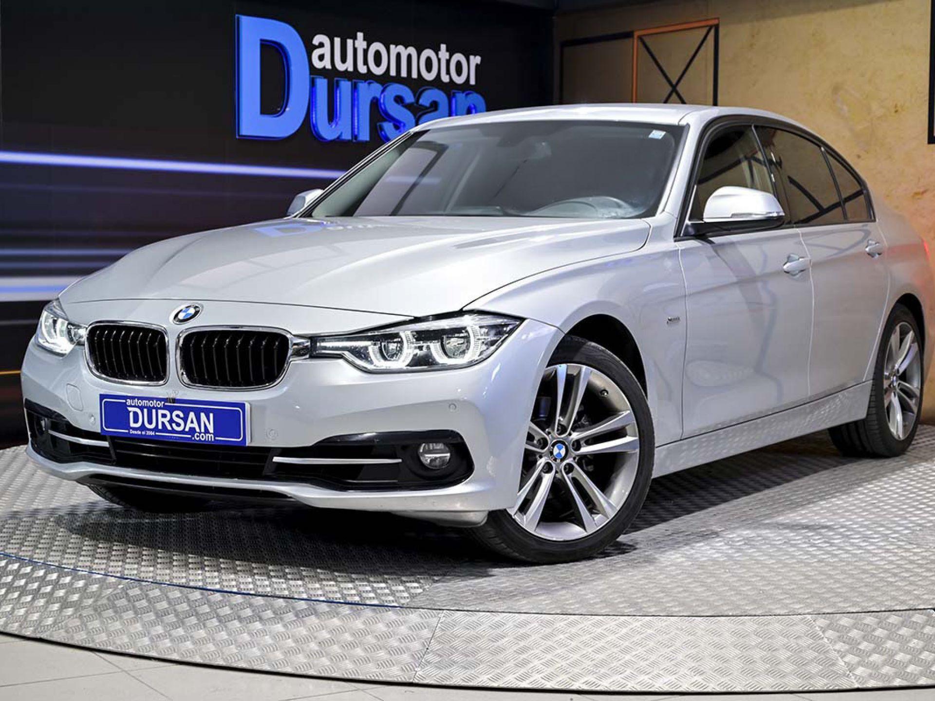 BMW Serie 3 ocasión segunda mano 2018 Gasolina por 24.990€ en Madrid