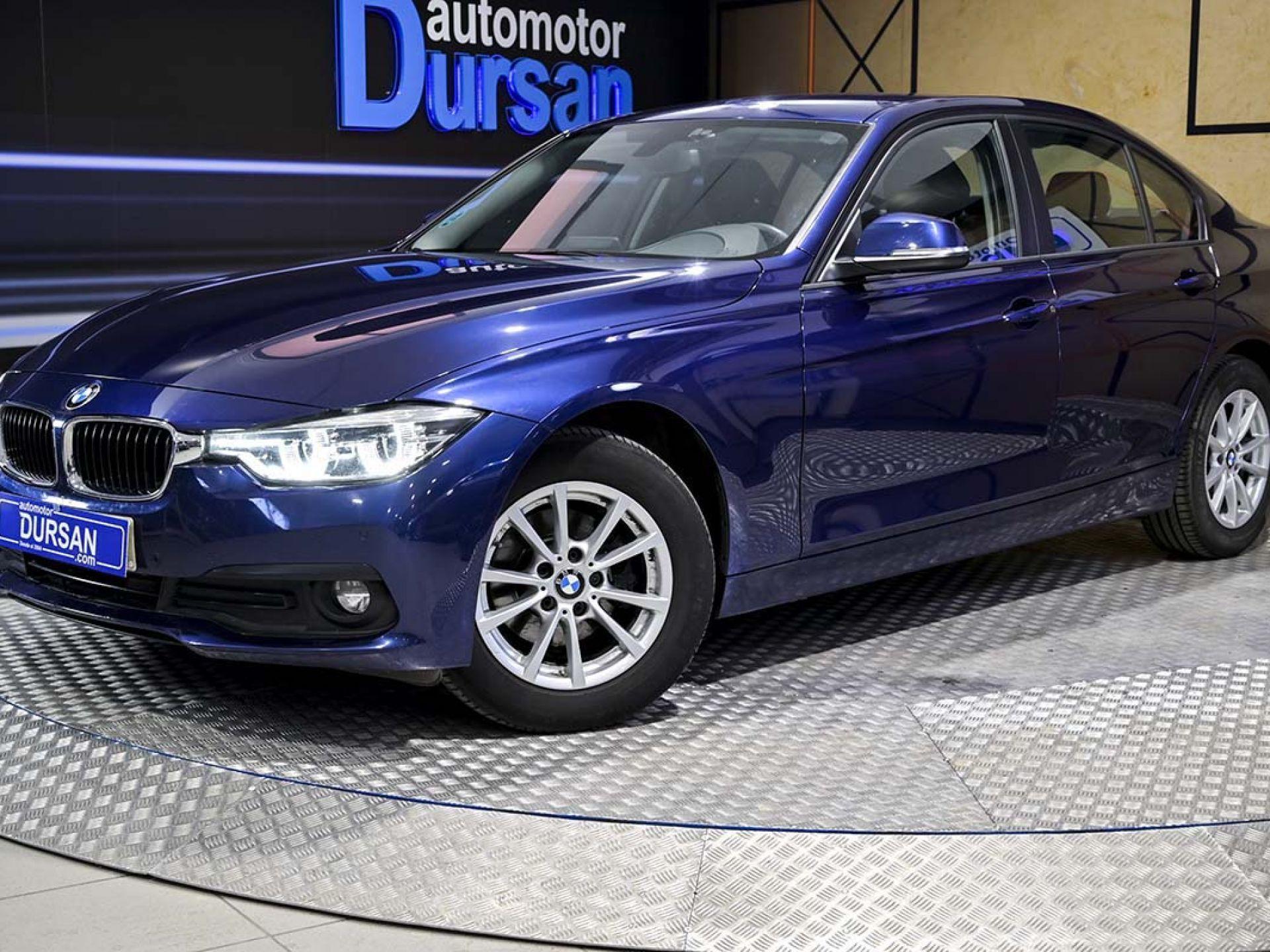 BMW Serie 3 ocasión segunda mano 2018 Diésel por 21.490€ en Madrid