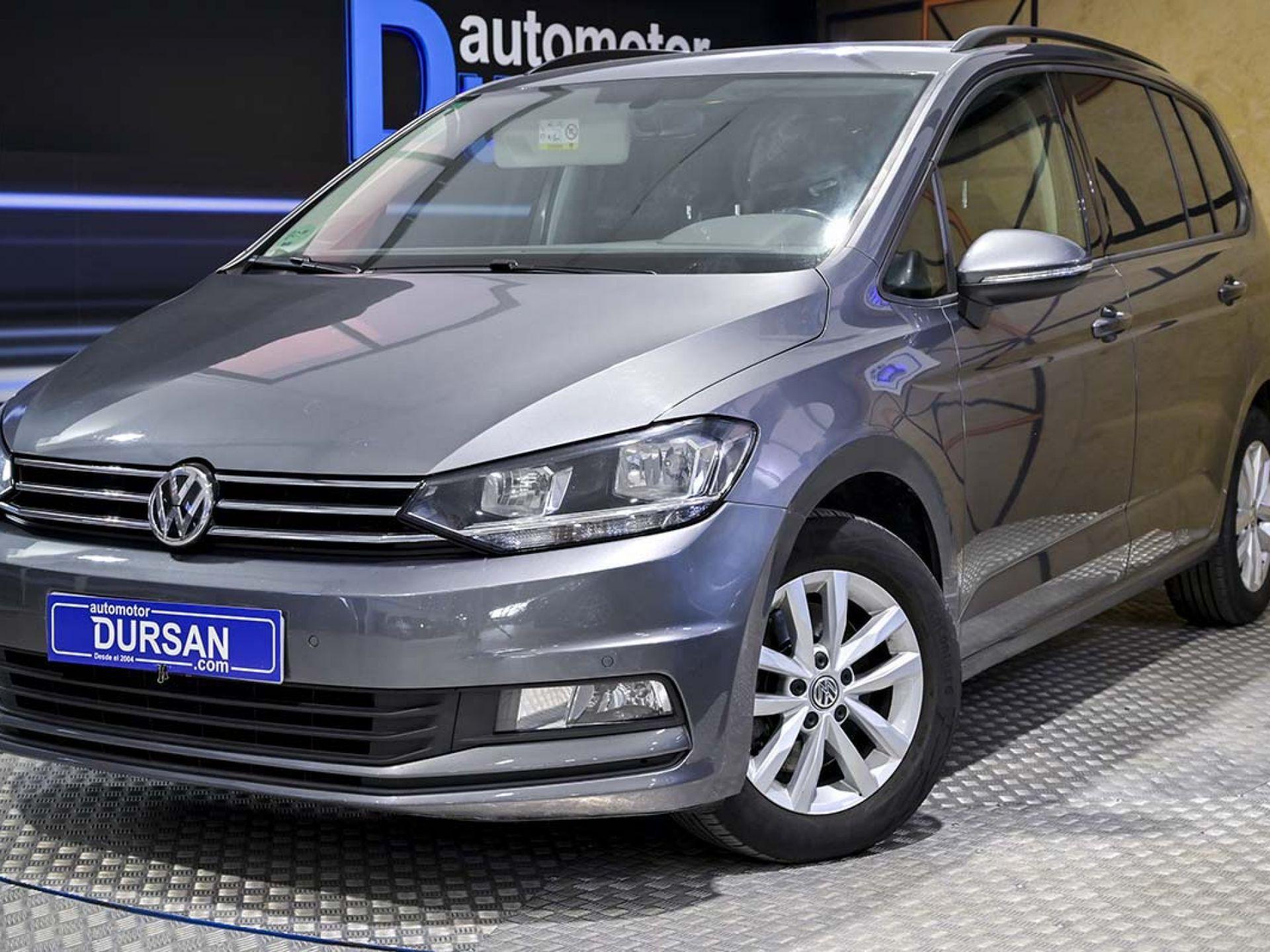 Volkswagen Touran ocasión segunda mano 2016 Diésel por 17.490€ en Madrid