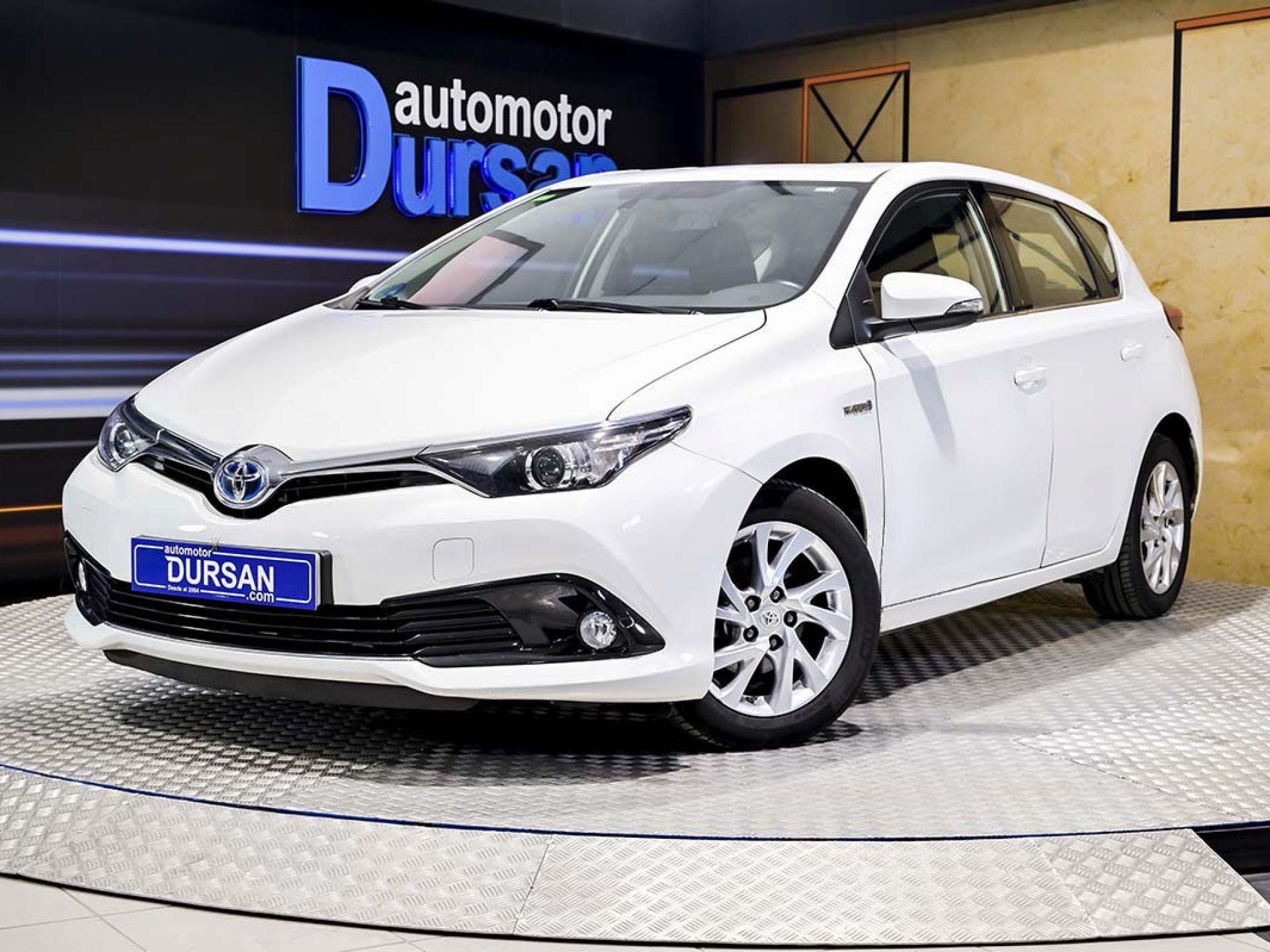 Toyota Auris ocasión segunda mano 2016 Híbrido por 12.990€ en Madrid