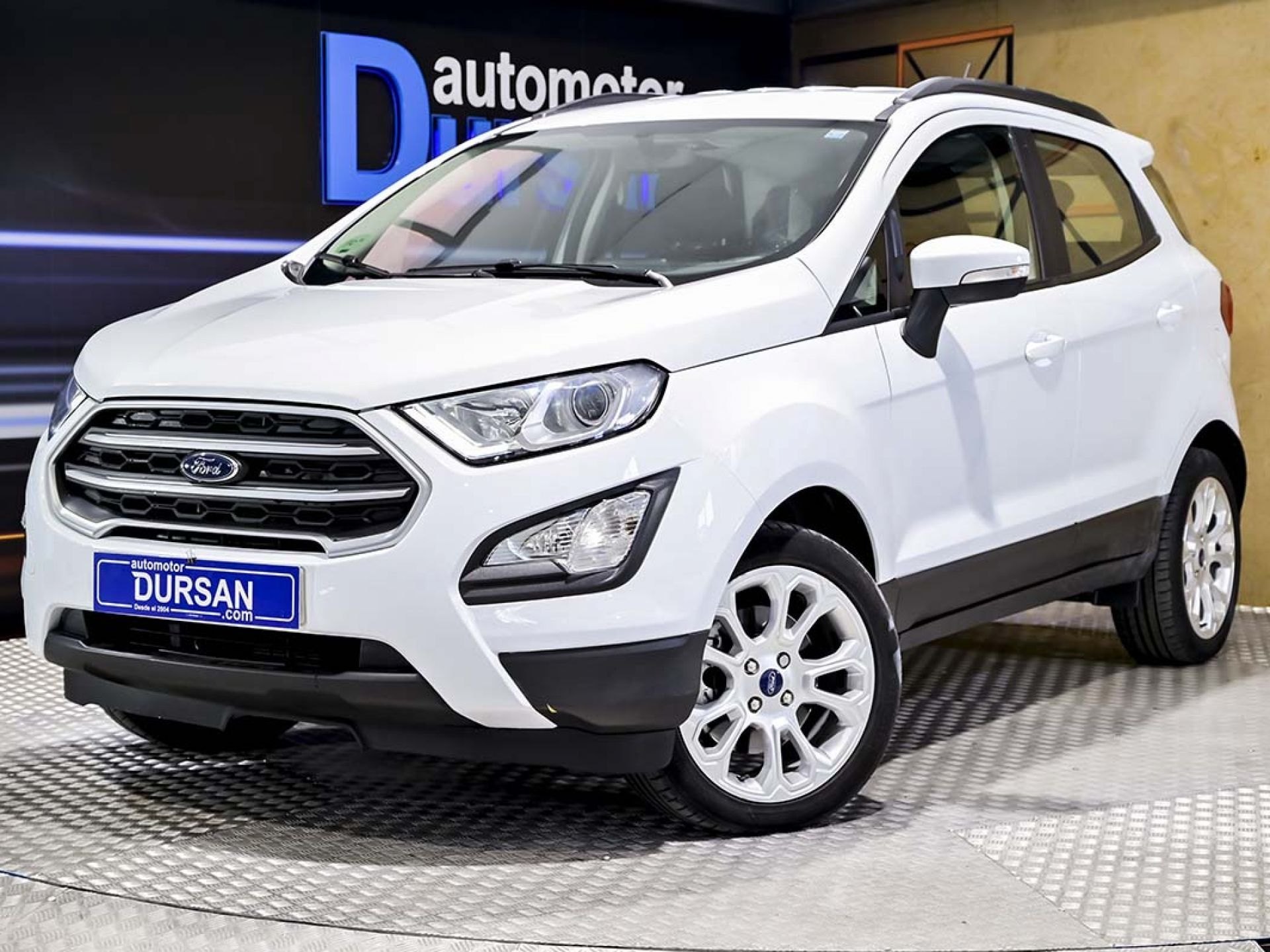 Ford Ecosport ocasión segunda mano 2019 Gasolina por 15.490€ en Madrid