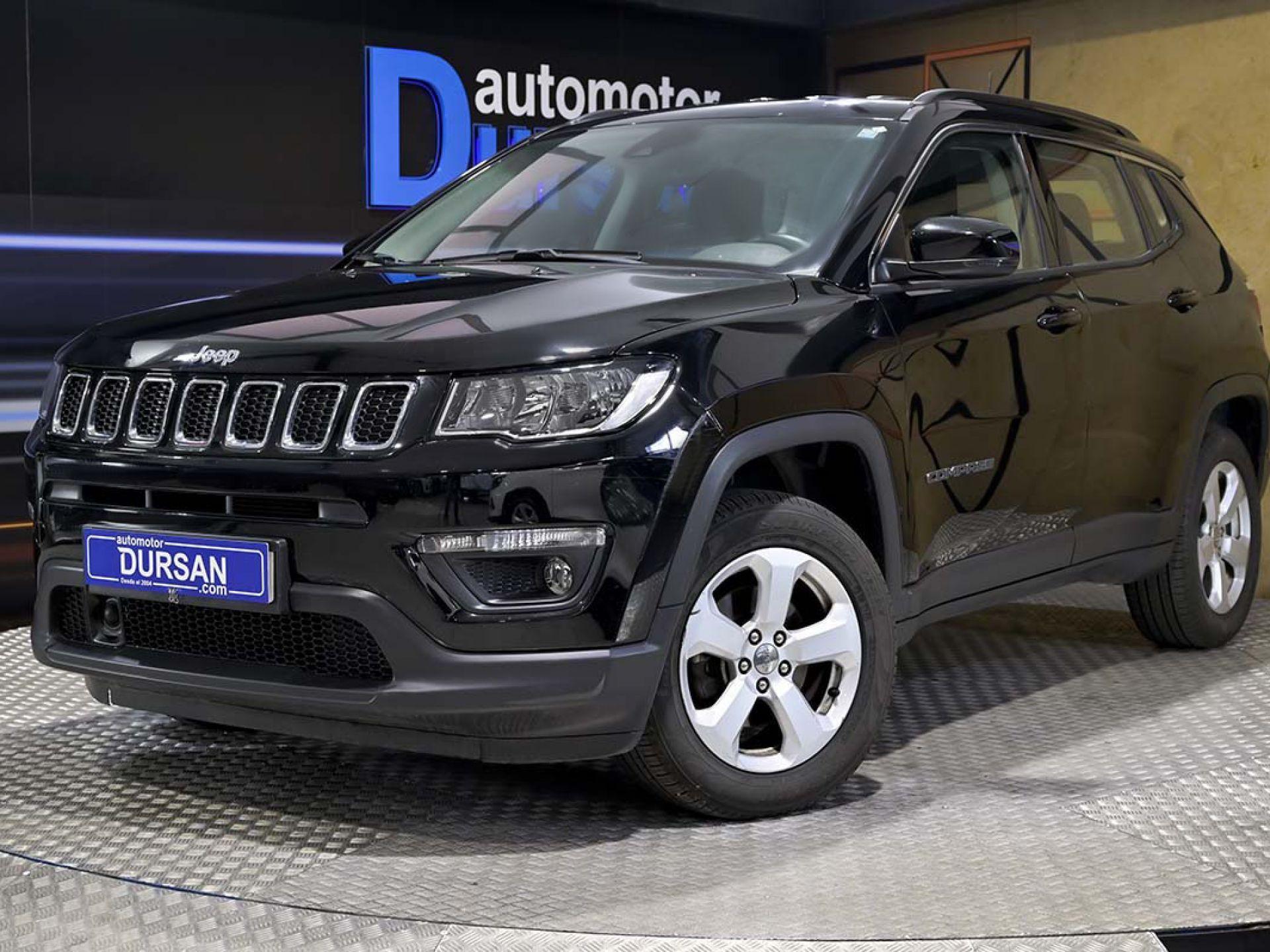 Jeep Compass ocasión segunda mano 2018 Diésel por 24.490€ en Madrid