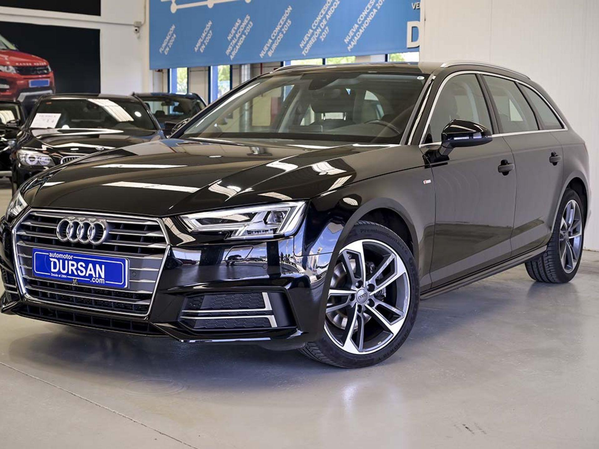 Audi A4 ocasión segunda mano 2018 Diésel por 24.300€ en Madrid