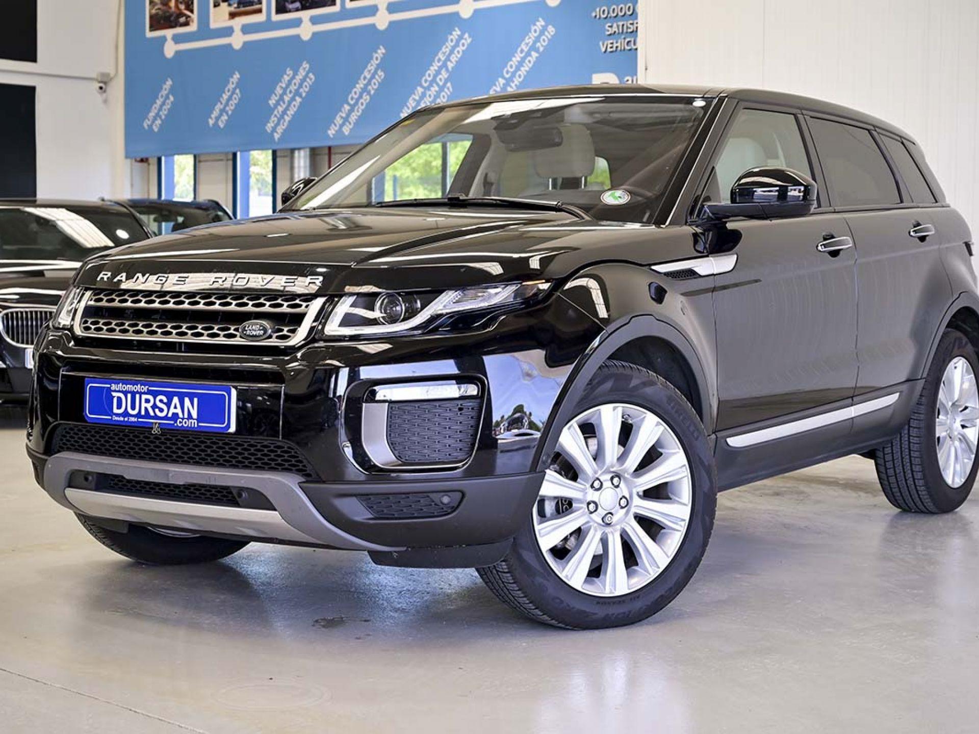 Land Rover Range Rover Evoque ocasión segunda mano 2017 Diésel por 33.900€ en Madrid