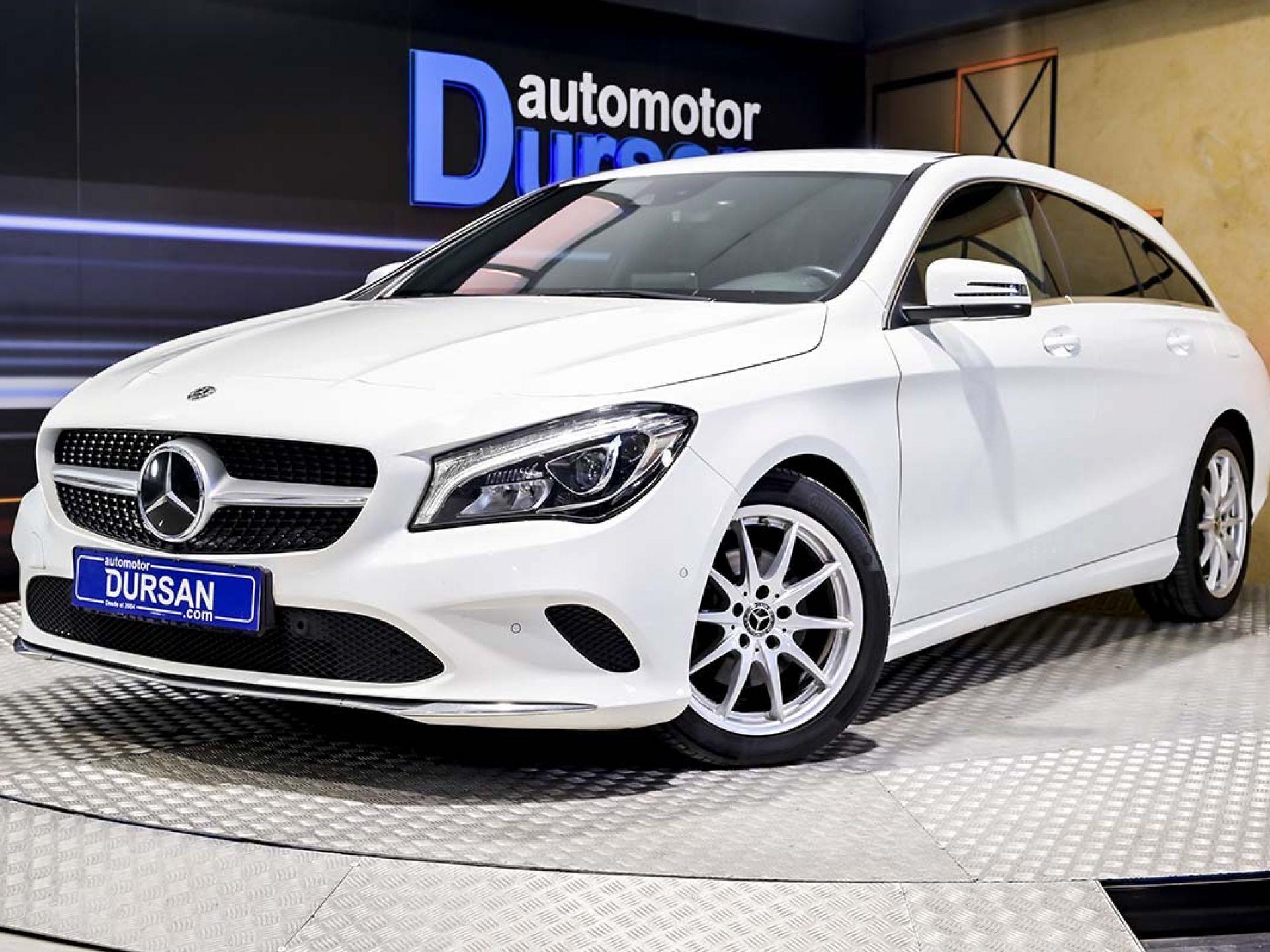 Mercedes Benz Clase CLA ocasión segunda mano 2018 Diésel por 24.490€ en Madrid