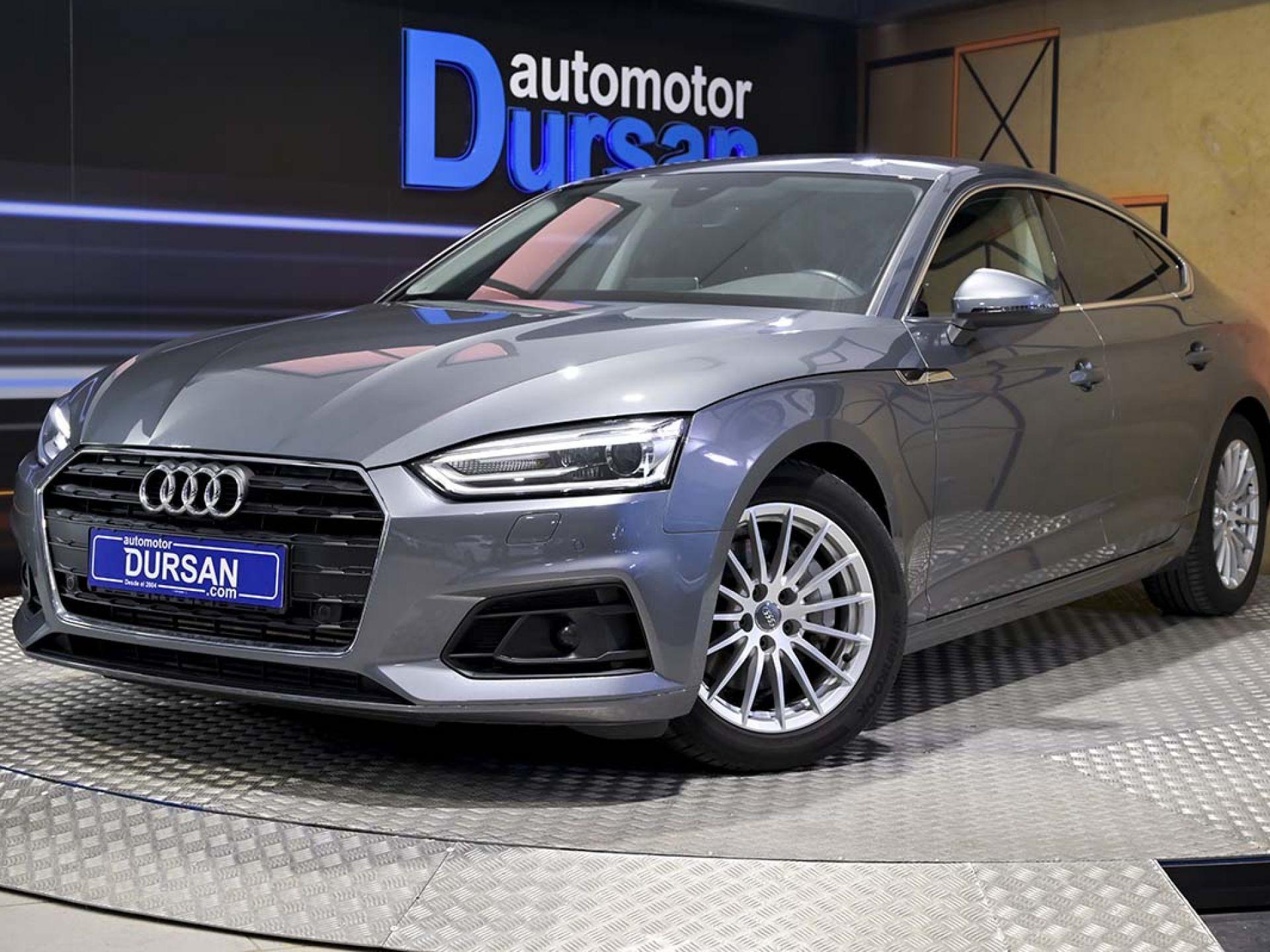 Audi A5 ocasión segunda mano 2018 Diésel por 36.990€ en Madrid