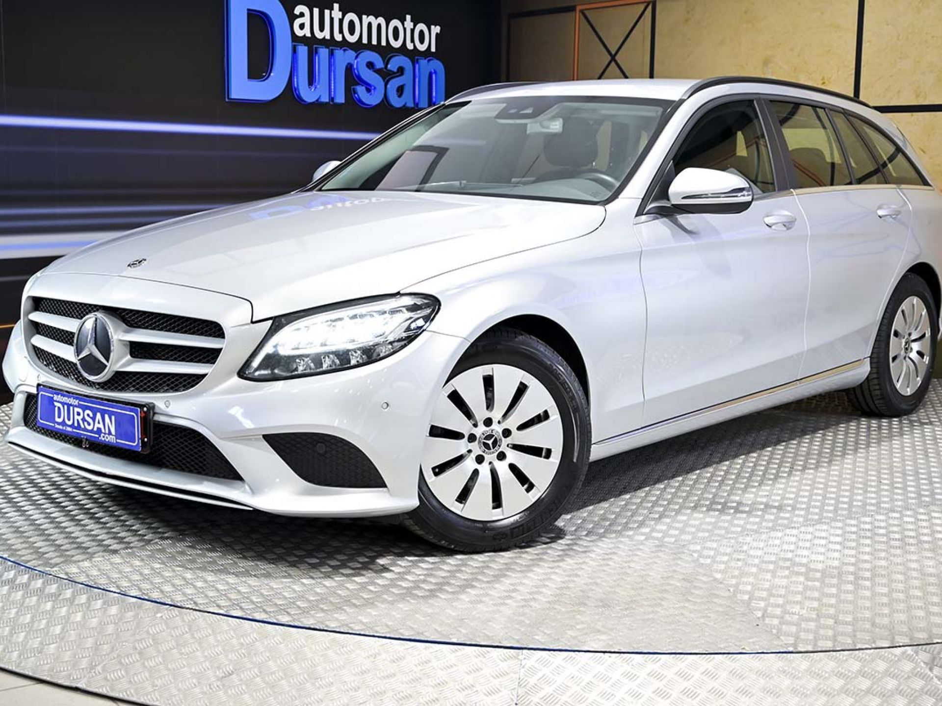 Mercedes Benz Clase C ocasión segunda mano 2019 Diésel por 27.990€ en Madrid