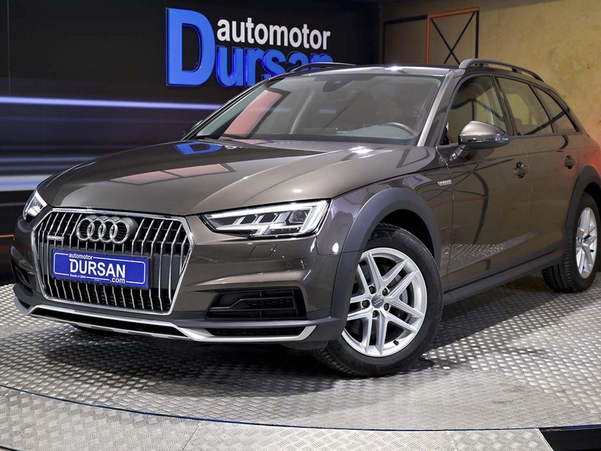 Audi A4 Allroad Quattro ocasión segunda mano 2017 Diésel por 31.490€ en Madrid