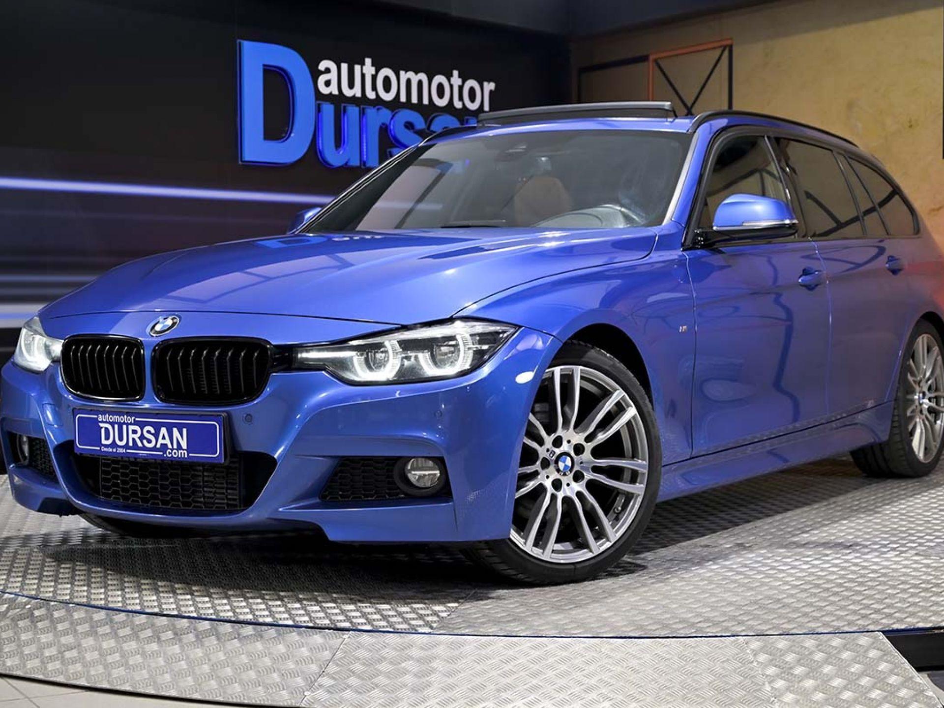 BMW Serie 3 ocasión segunda mano 2017 Diésel por 26.990€ en Madrid