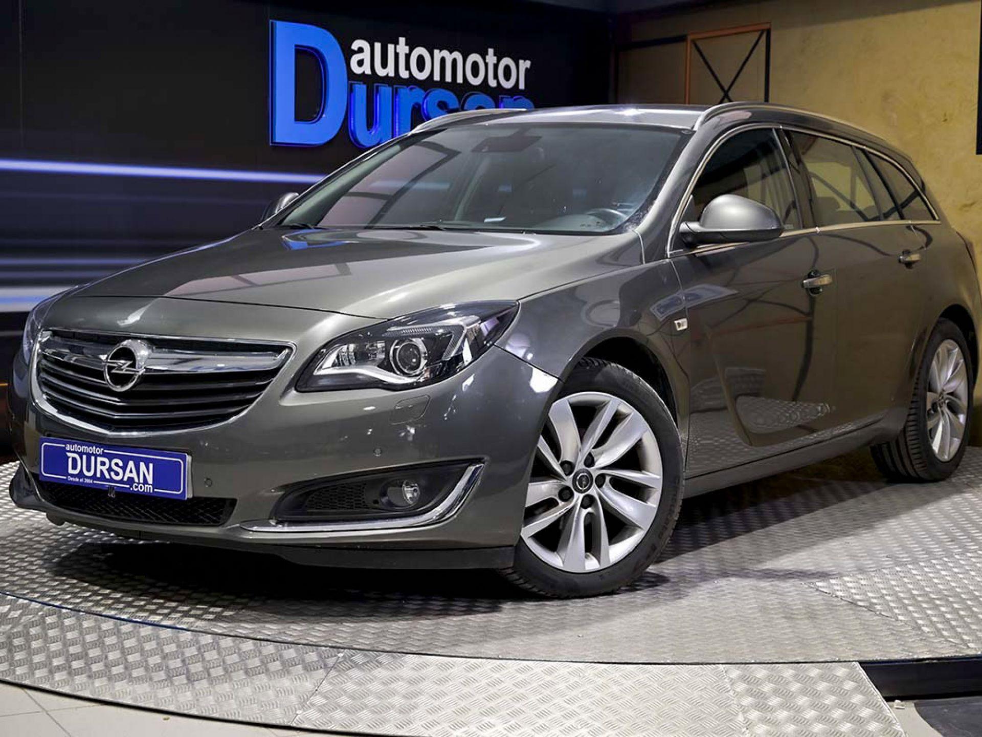 Opel Insignia  ocasión segunda mano 2017 Diésel por 14.490€ en Madrid