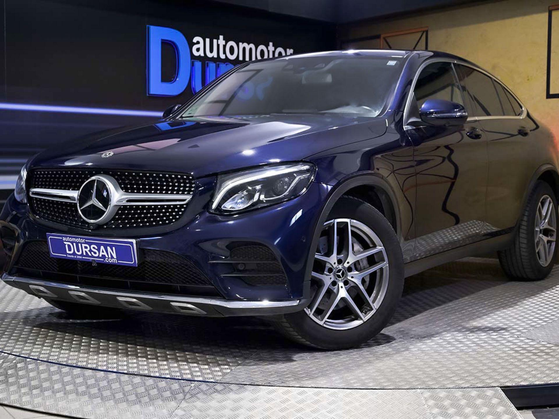 Mercedes Benz GLC Coupé ocasión segunda mano 2018 Diésel por 45.990€ en Madrid