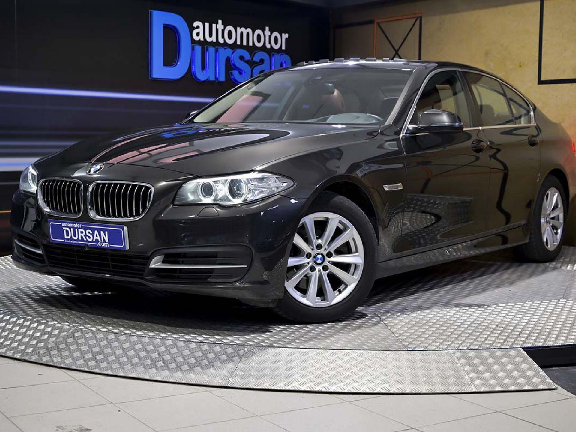 BMW Serie 5 ocasión segunda mano 2014 Diésel por 16.490€ en Madrid