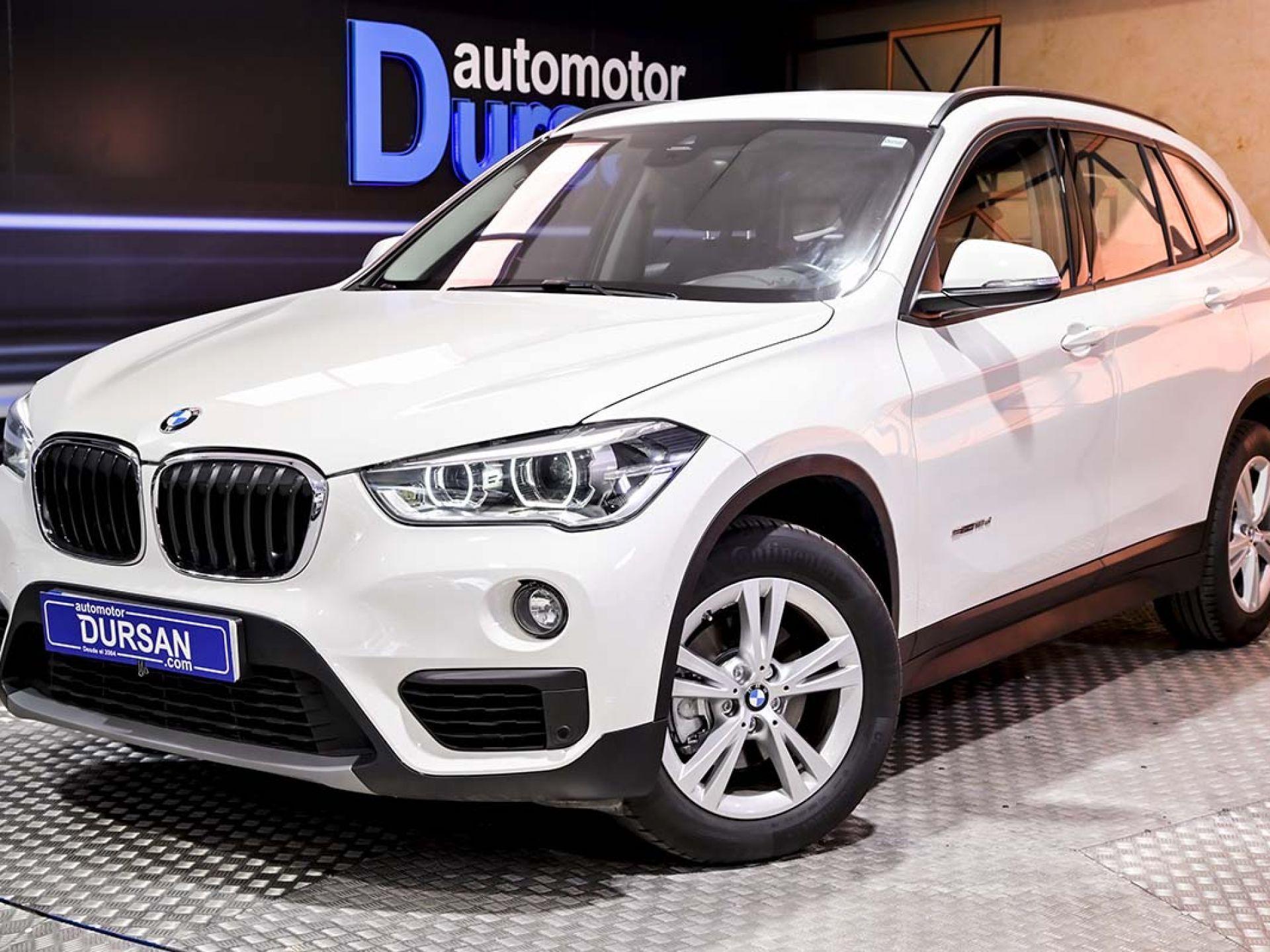 BMW X1 ocasión segunda mano 2017 Diésel por 22.490€ en Madrid