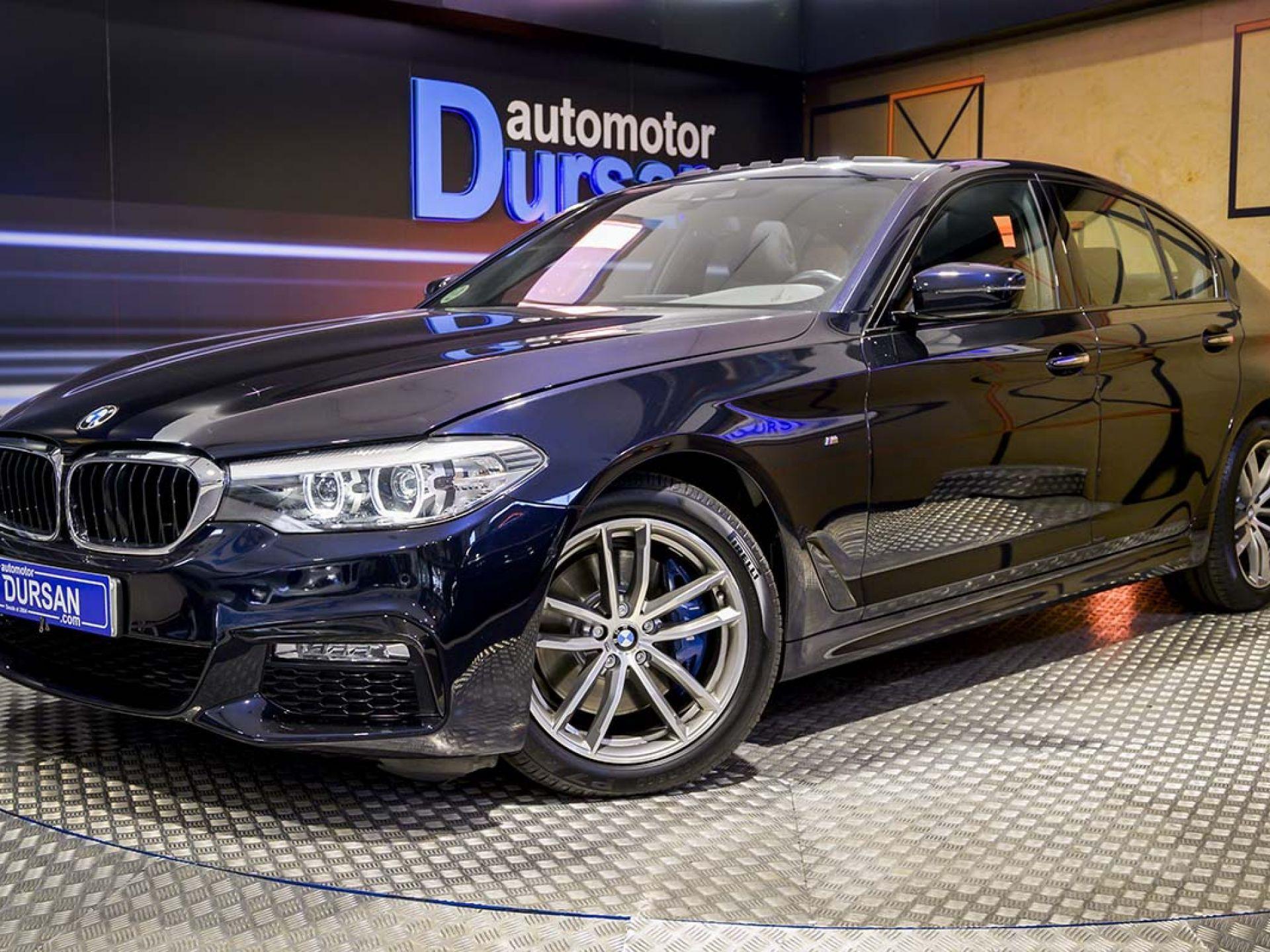 BMW Serie 5 ocasión segunda mano 2017 Diésel por 34.890€ en Madrid