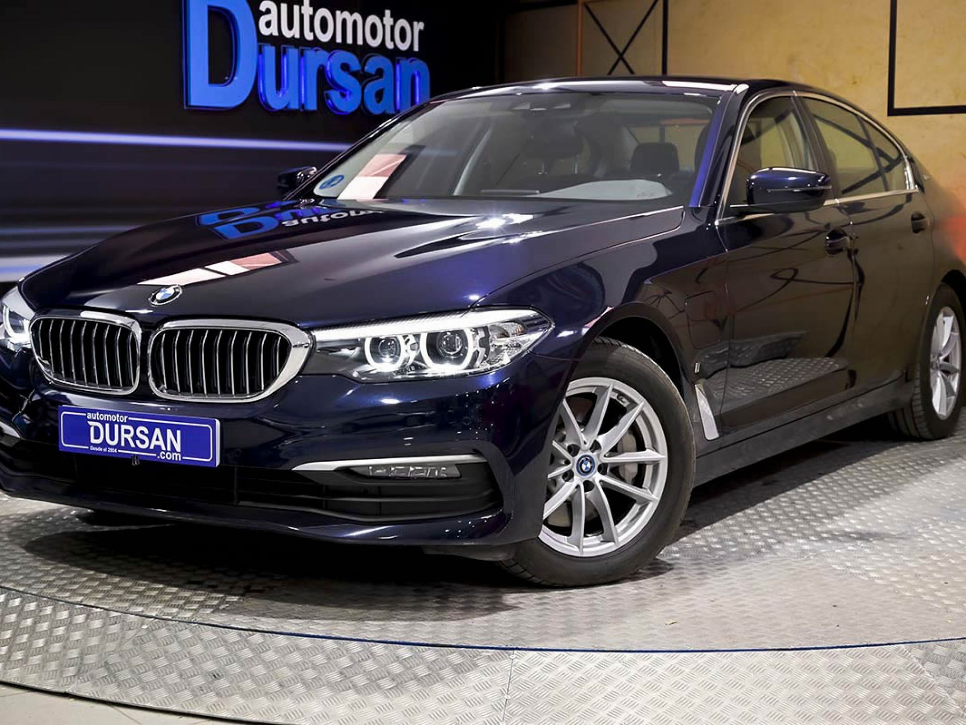 BMW Serie 5 ocasión segunda mano 2019 Híbrido por 39.990€ en Madrid
