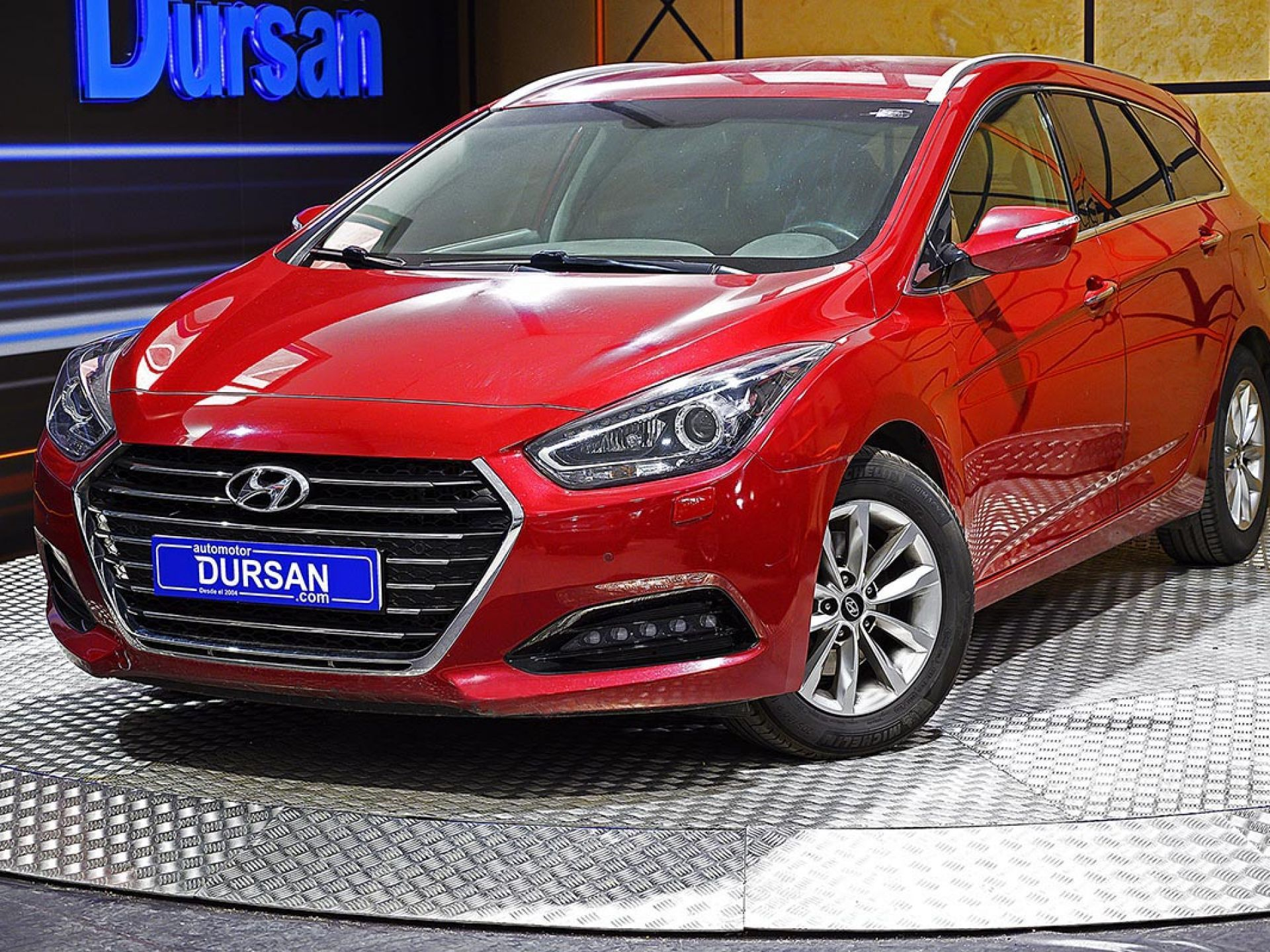 Hyundai i40 ocasión segunda mano 2017 Diésel por 15.490€ en Madrid
