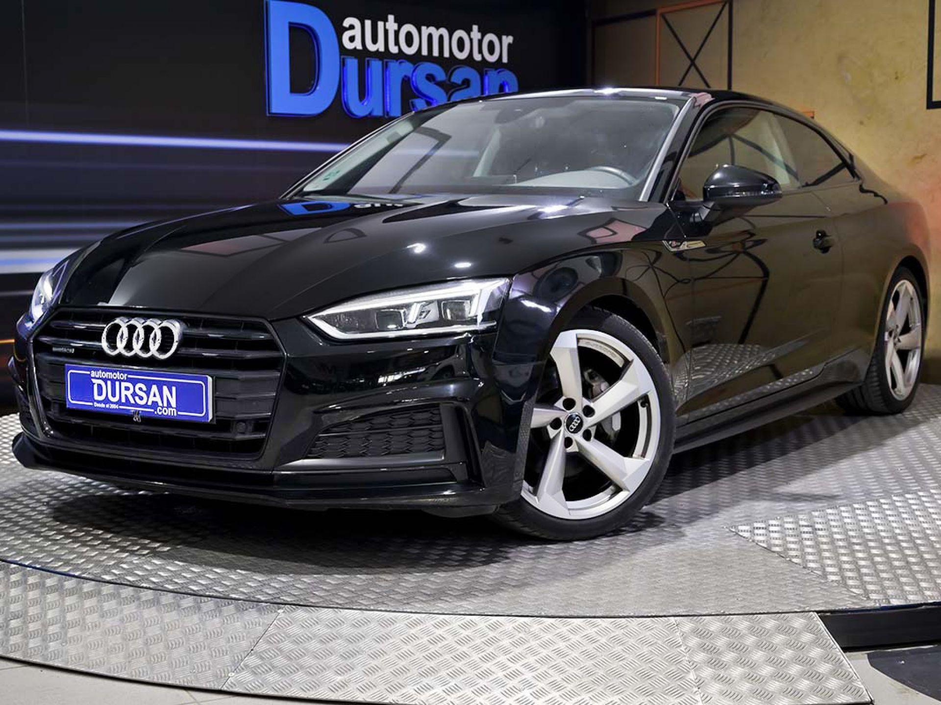 Audi A5 ocasión segunda mano 2018 Diésel por 31.990€ en Madrid