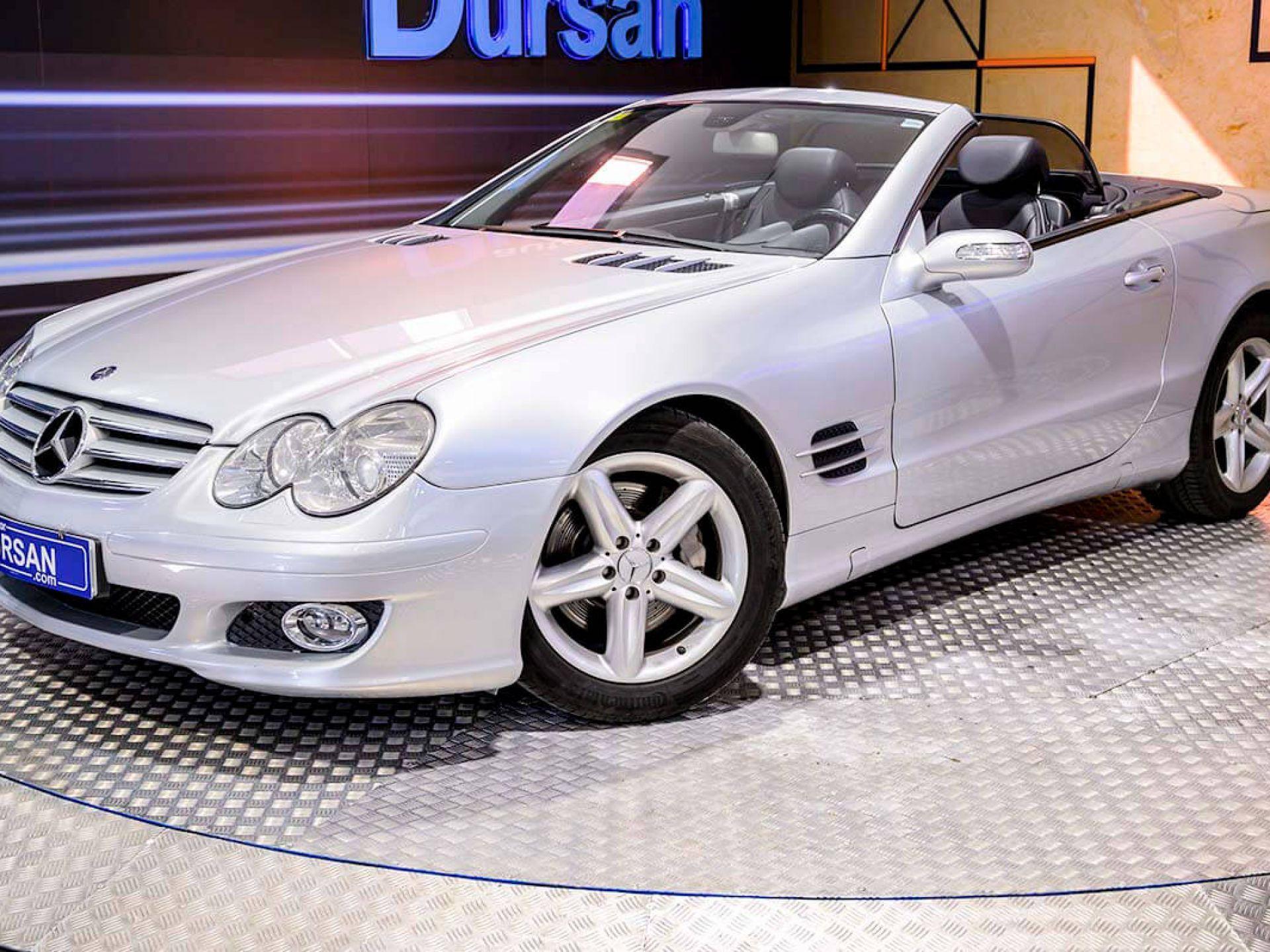 Mercedes Benz Clase SL ocasión segunda mano 2007 Gasolina por 18.990€ en Madrid