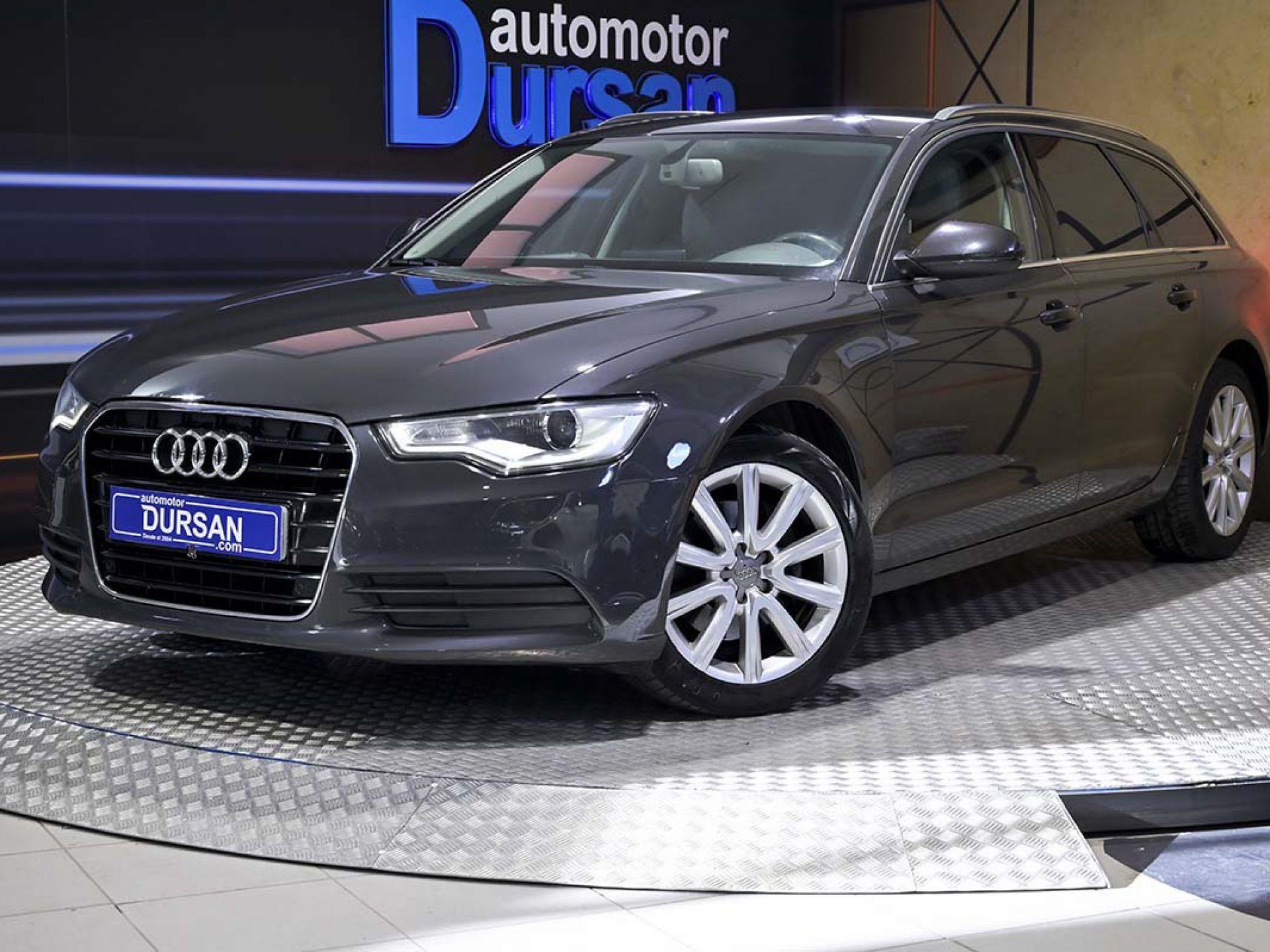 Audi A6 ocasión segunda mano 2014 Diésel por 14.990€ en Madrid