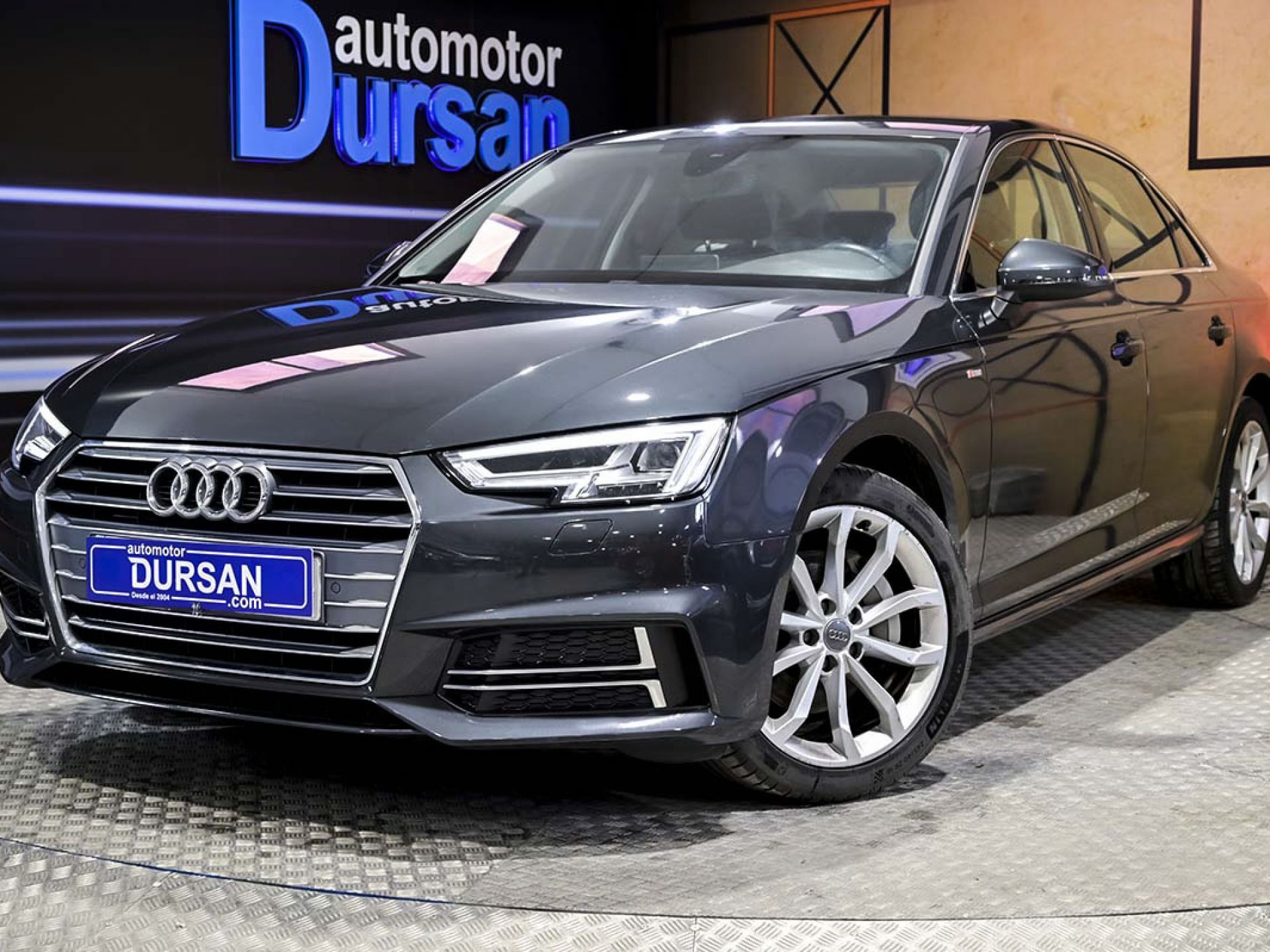 Audi A4 ocasión segunda mano 2018 Diésel por 21.990€ en Madrid