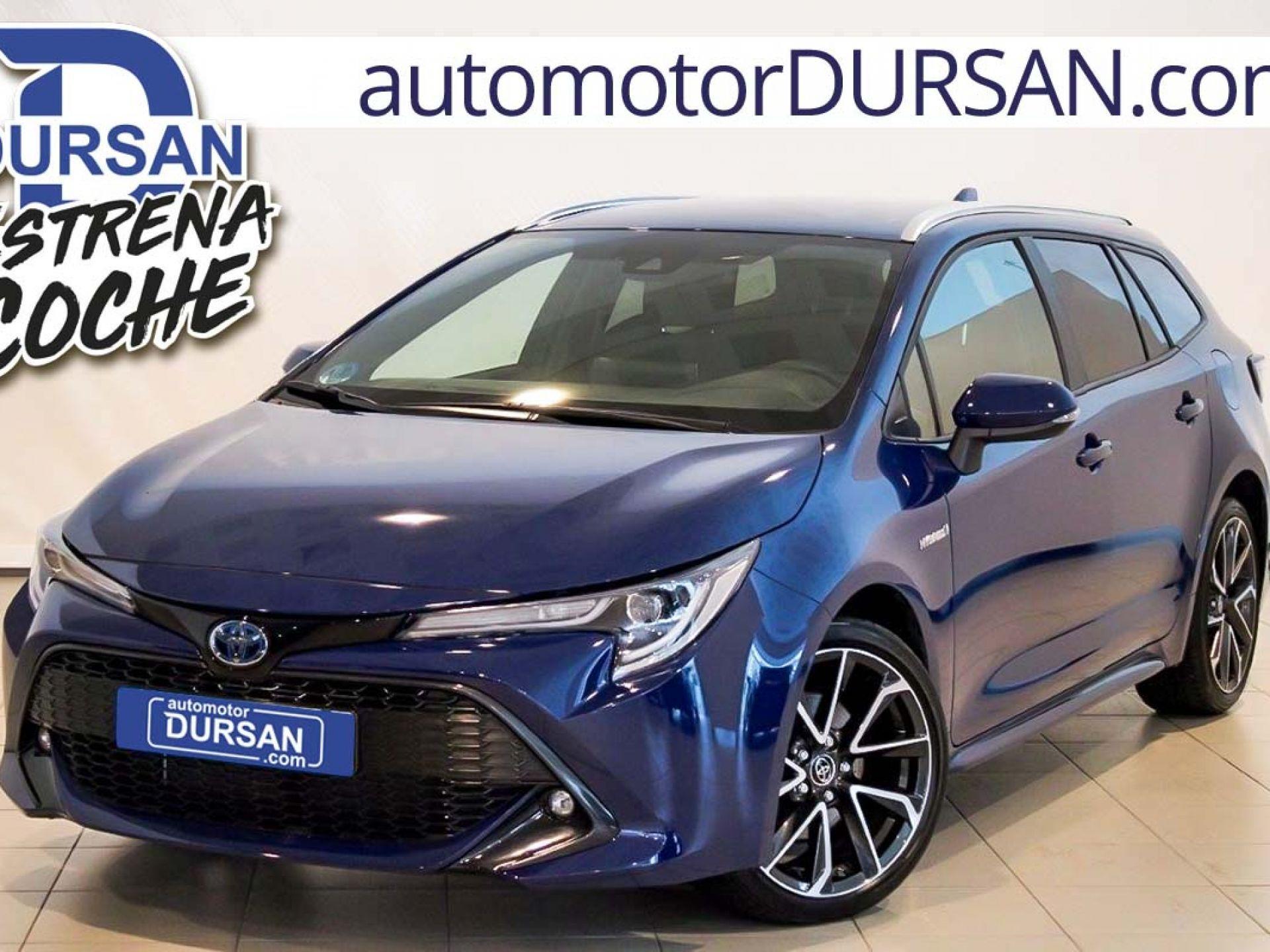 Toyota Corolla ocasión segunda mano 2019 Híbrido por 24.500€ en Madrid