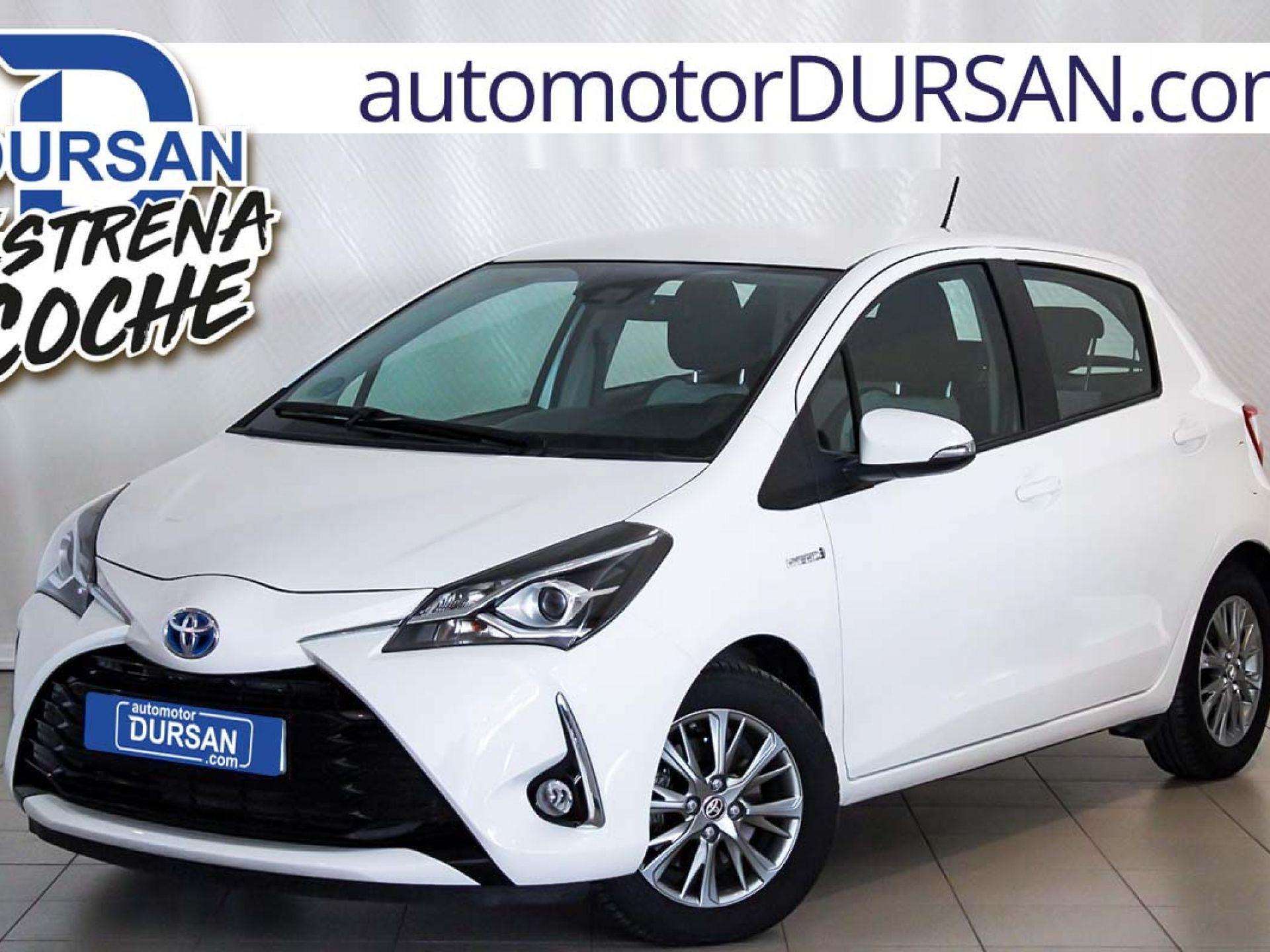 Toyota Yaris ocasión segunda mano 2017 Híbrido por 13.500€ en Madrid