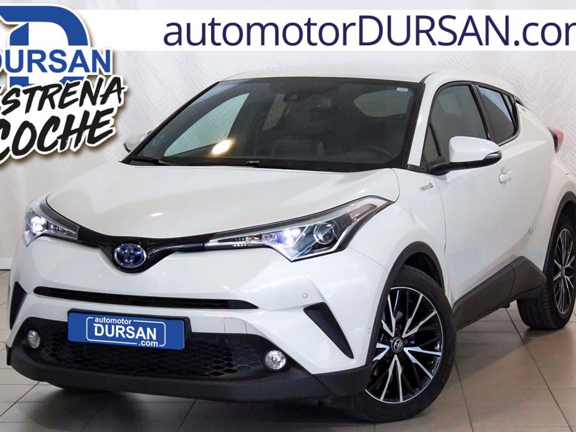 Toyota C-HR ocasión segunda mano 2017 Híbrido por 19.900€ en Madrid